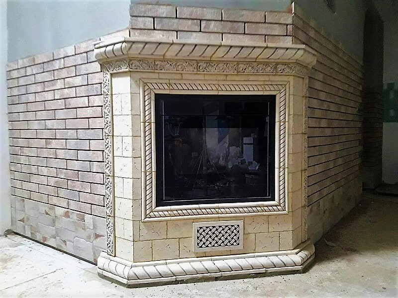 Каминный портал (под электрокамин)