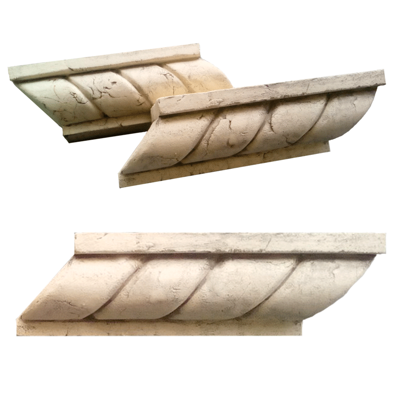 Фасадный декор — карниз канат