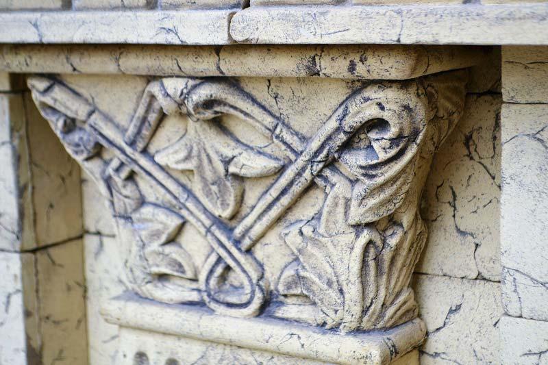 Фасадный декор — капитель пилястры