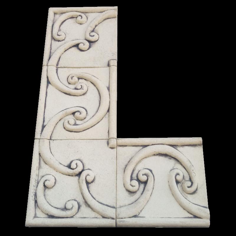 Фасадный декор — фриз (молдинг) №2