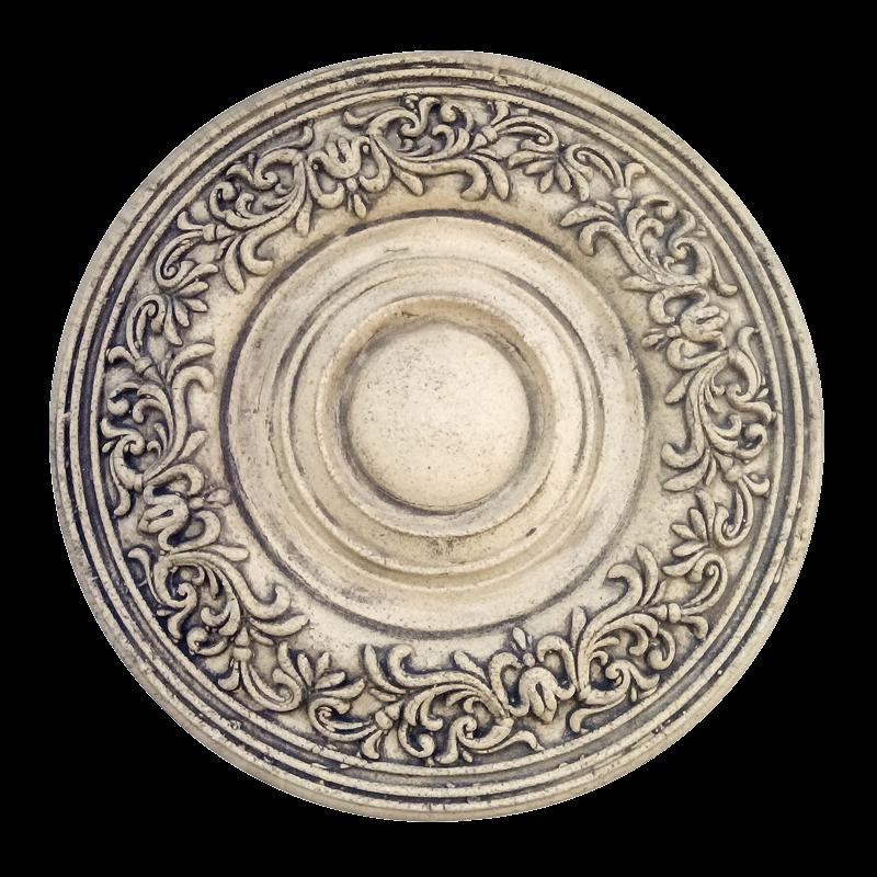 Лепной орнамент — потолочная розетка (под люстру)